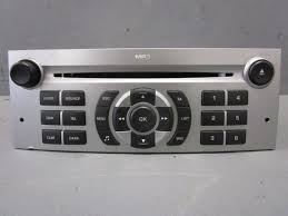 cd radio car radio mp3 9664636277 peugeot 407 sw 6e 1 6 hdi 110
