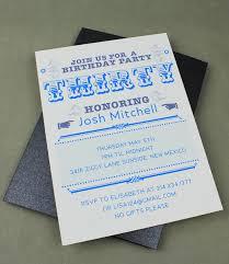 30th birthday party invitation template u2013 download u0026 print