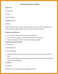 call center manager resume sample u2013 topshoppingnetwork com