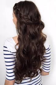 brunette easy hairstyles 37 best 50 brilliant brunette hairstyles images on pinterest hair