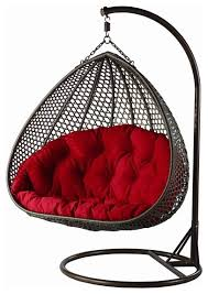 does yahg double wide hanging chair comes along with the chair