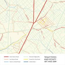 Property Lines Map Hidden Clues Reveal An Old Road That Disappeared From Dc U2013 Greater