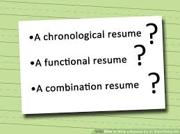 How To Type A Resume For A Job 3 ways to write a resume for an advertising job wikihow