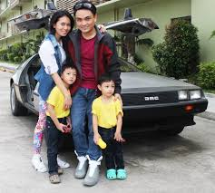 Marty Mcfly Costume Pinoy Couple Celebrates Back To The Future Day In Costume
