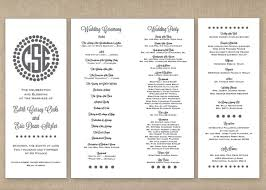 best wedding programs photos 2017 u2013 blue maize