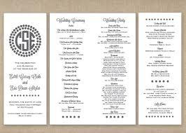 Wedding Programs Best Wedding Programs Photos 2017 U2013 Blue Maize
