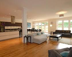 Family Kitchen Design Ideas Photo Of Open Plan Beige Orange Kitchen Kitchen Diner Lounge