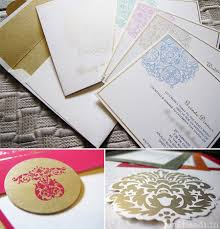 Wedding Invitations India Indian Wedding Cards Trends 2013 Myshaadi In