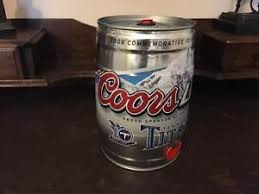 how much is a keg of coors light 2008 coors light tennessee titans mini keg 5l empty rare excellent