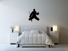 Hockey Wall Mural Amazon Com Hockey Wall Sticker Decal 6 Decal Stickers And Mural