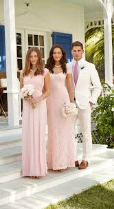 soft pink bridesmaid dresses ralph wedding soft pink bridesmaid dresses and