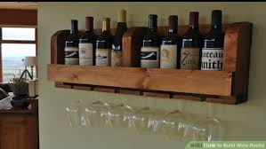 how to build a wine rack in a cabinet how to build wine racks with pictures wikihow