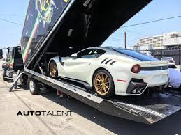 first ferrari first ferrari f12tdf delivered in the us gtspirit