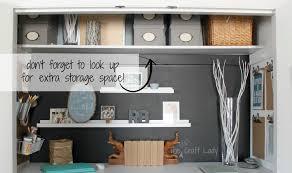 Closet Office Desk Home Office In A Closet Office Closet Design Ideas In Home