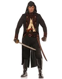 Medieval Renaissance Halloween Costumes Medieval Renaissance Eliminator Assassin 8 Pc Costume