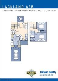 Fort Drum Housing Floor Plans Lackland Afb Frank Tejeda Floor Plans