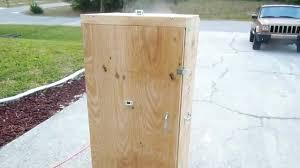 home built smoker plans homemade wooden beef jerkey smoker box part 4 diy how to build a