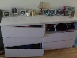 solution organized bedroom with malm dresser johnfante dressers
