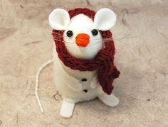 gladiator mouse ornament felt hamster rat mice by thehouseofmouse