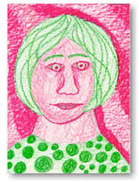 complementary of pink complementary colors portraits drawing lessons for kids kinderart