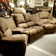 Sectional Sofas With Recliners And Cup Holders Theater Seating Cardi U0027s Furniture Sectional Coach Sofa