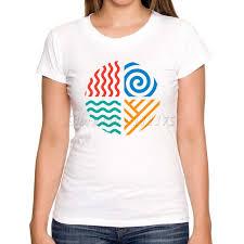 2016 creative earth air water design t shirt