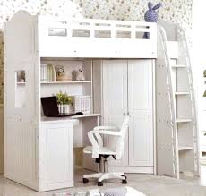 Bed In Closet Loft Beds Loft Bed With Walk In Closet Underneath Full Image For