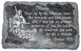 grave plaques memorial plaques with image and memorial verse