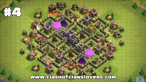 big clash of clans base 30 undefeated th7 war farming trophy hybrid 2017 layouts