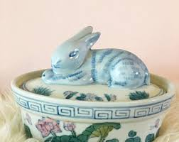 vintage rabbit ring holder images Bunny ring holder etsy jpg