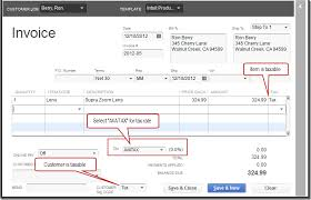quickbooks invoice template invoice templates for quickbooks