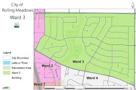2nd Ward Map Chicago by Laura Majikes 3rd Ward Alderman Rolling Meadows Il Official