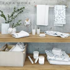 Home Design 3d Models Free by Bathroom Accessories Zara Home 3d Model Cgtrader