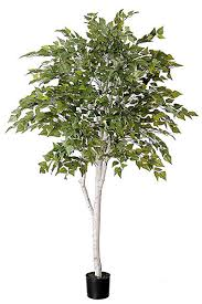 artificial silver birch tree