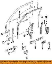 Toyota Camry Interior Parts Toyota 94 96 Camry Interior Inside Door Handle Left 6920606011k0