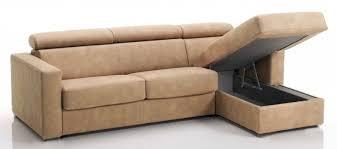 revetement canapé canapé d angle convertible avec têtières revêtement tissu taupe lova
