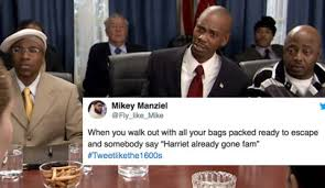 Black History Month Memes - twitter celebrates black history month by tweeting like the 1600s