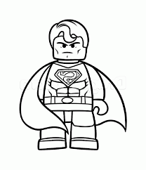 lego superman coloring pages superman coloring pages drawing 9655