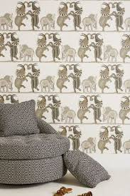 Fornasetti Curtains Wallpaper Anthropologie