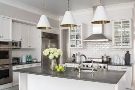 dark grey countertops with white cabinets urban elegance transitional kitchen chicago by wendy labrum
