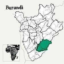 Burundi Map Burundi Gitaba