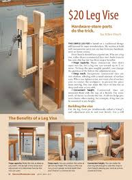 Wooden Bench Vise Plans by 103 Best Woodworking Workbench Images On Pinterest Woodworking