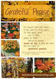 7 days of thanksgiving a day for grateful praise an extraordinary day