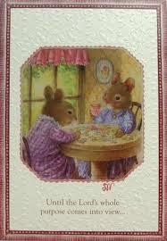 susan wheeler cards susan wheeler pond hill mouse mice tea table