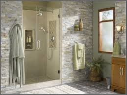 bathroom corner shower stalls bathtub glass doors lowes