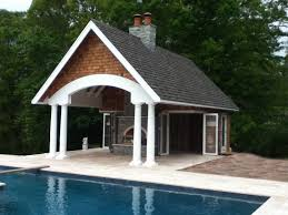 pool houses with bars completed pool house custom bars woodwork pinterest pool