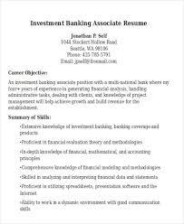Banking Resume Template 21 Banking Resume Templates Free U0026 Premium Templates