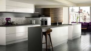 Black White Kitchen Island Interior by Heavenly Home Interior Kitchens Remodelings Design Ideas With