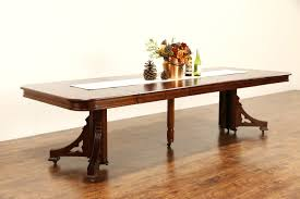 sold victorian eastlake 1885 antique mahogany dining table 6