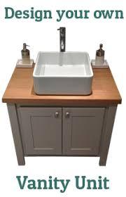 Wooden Vanity Units For Bathroom Bespoke Handmade Bathroom Vanity Units Aspenn Furniture